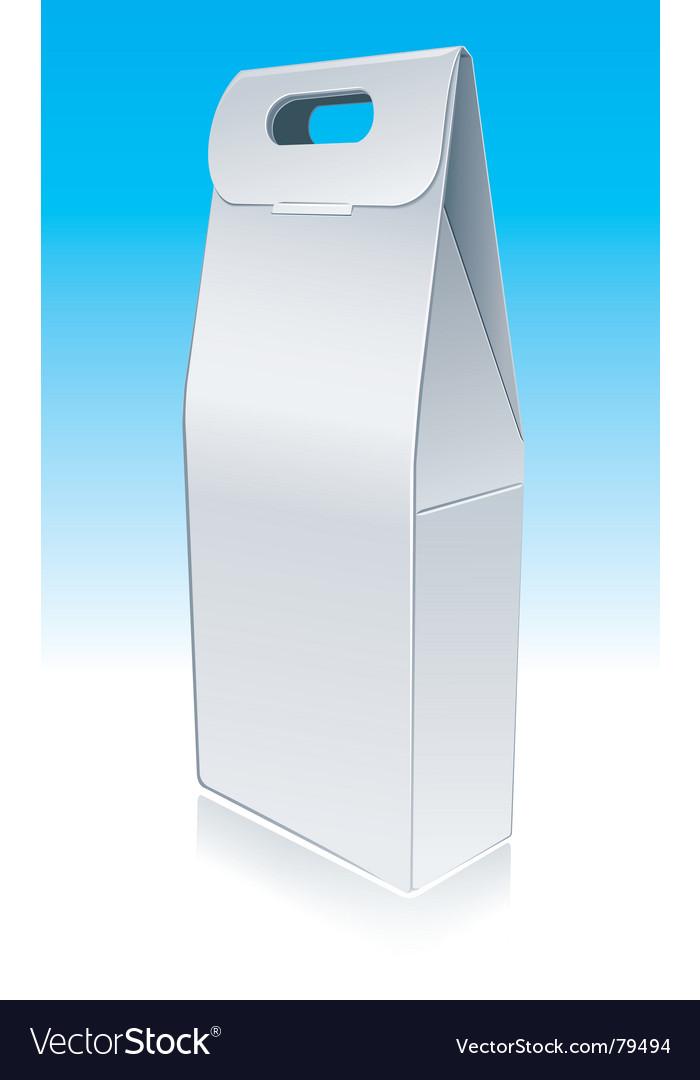 Bottle pack vector image
