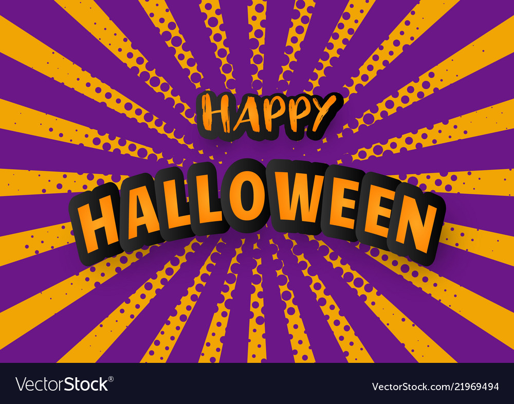 halloween carnival background royalty free vector image