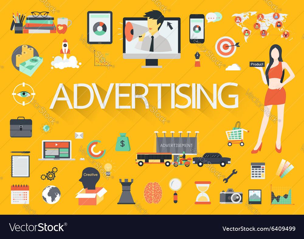 ADVERTISING FLAT