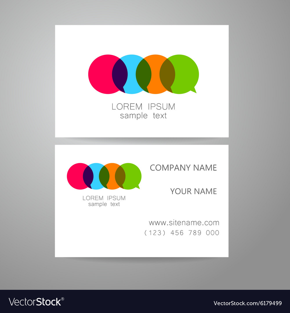 Communication dialog speech bubble logo