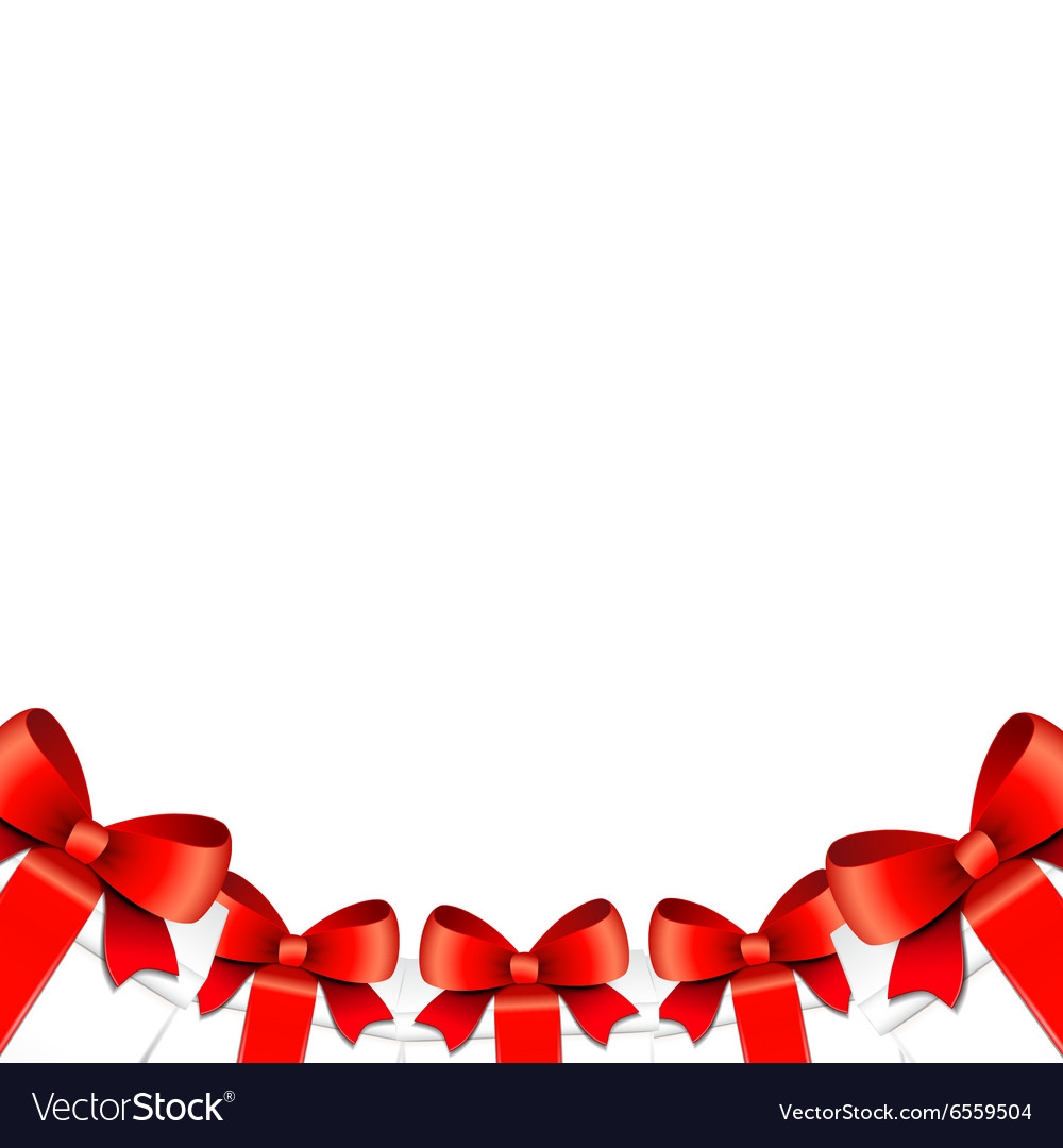 Background with Christmas gifts vector image