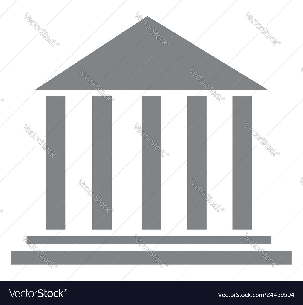 Roman architecture with long pillars or color