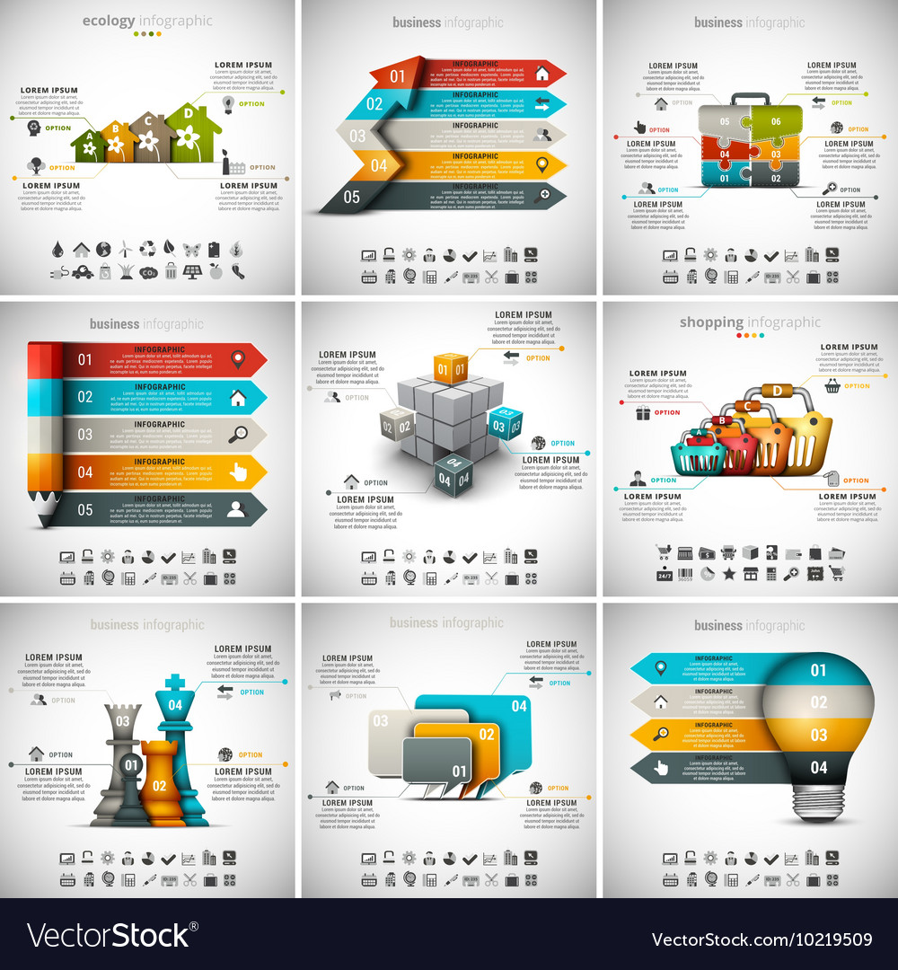 9 in 1 Infographic Bundle