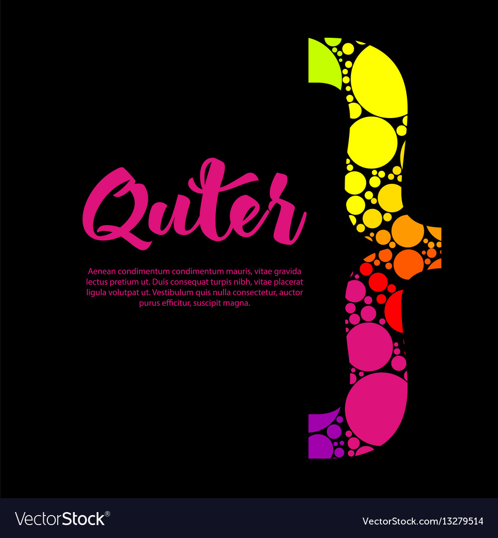 Abstract rainbow text box design with colorful vector image