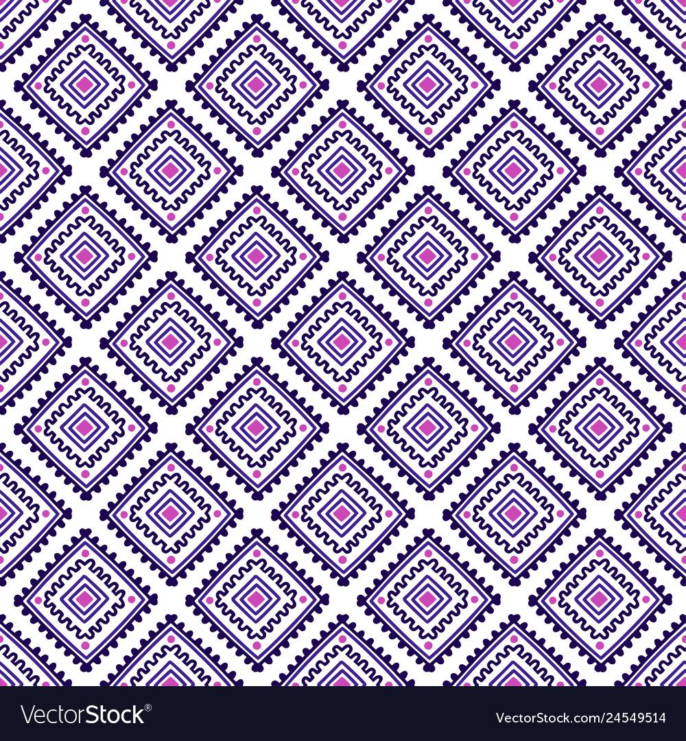 Ethnic seamless pattern tribal line print in