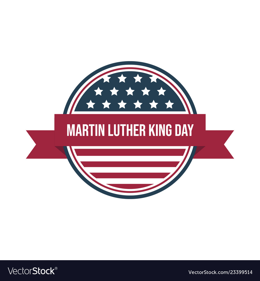 Martin Luther King Jr Day Royalty Free Vector Image