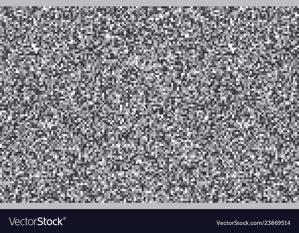 Tv noise monochrome texture background