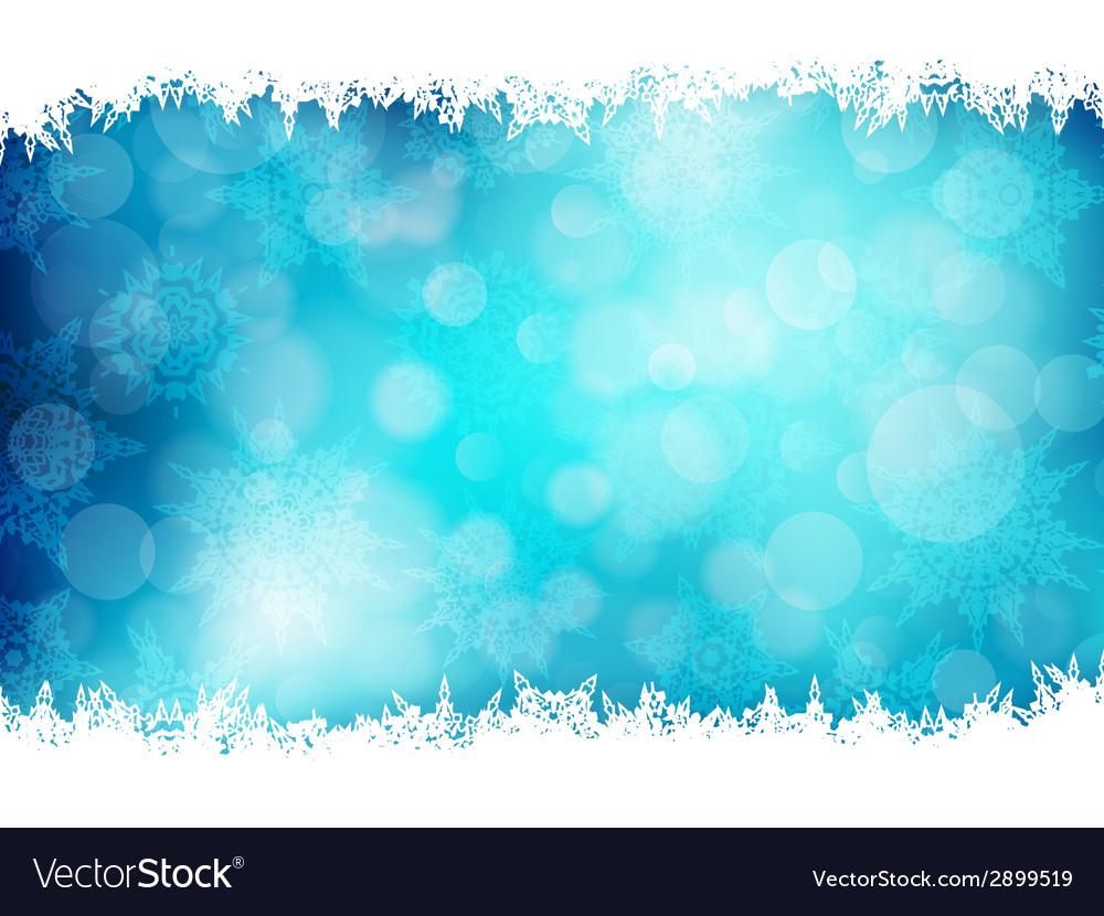 Blue Christmas Background EPS 10