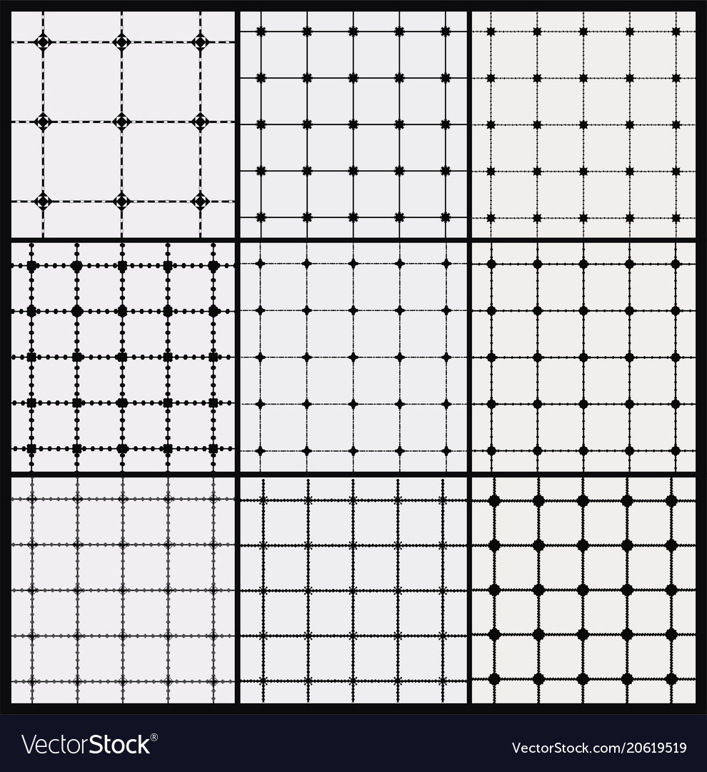 Seamless pattern repeating geometric squares