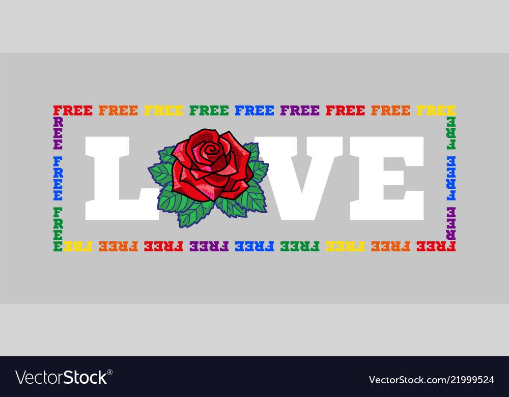 Free love print