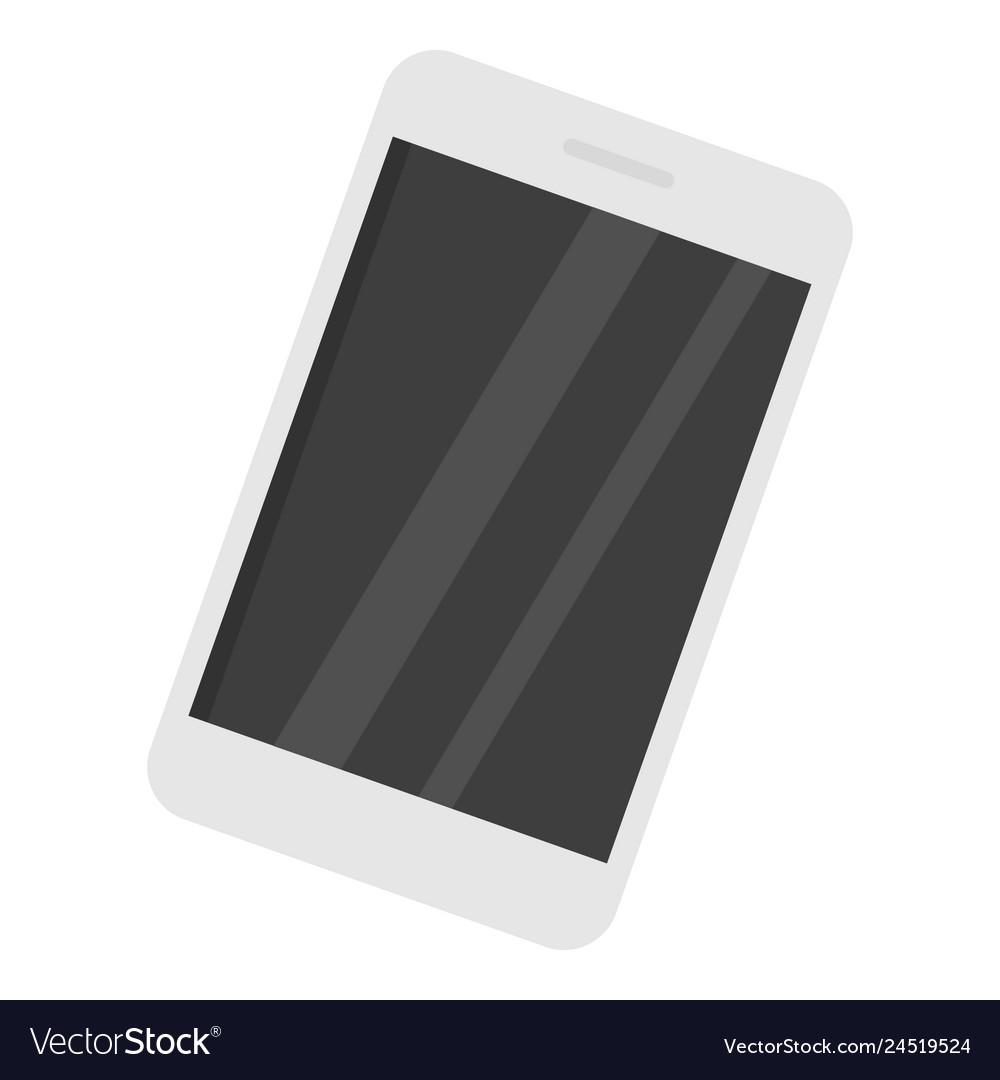 Smartphone icon flat style
