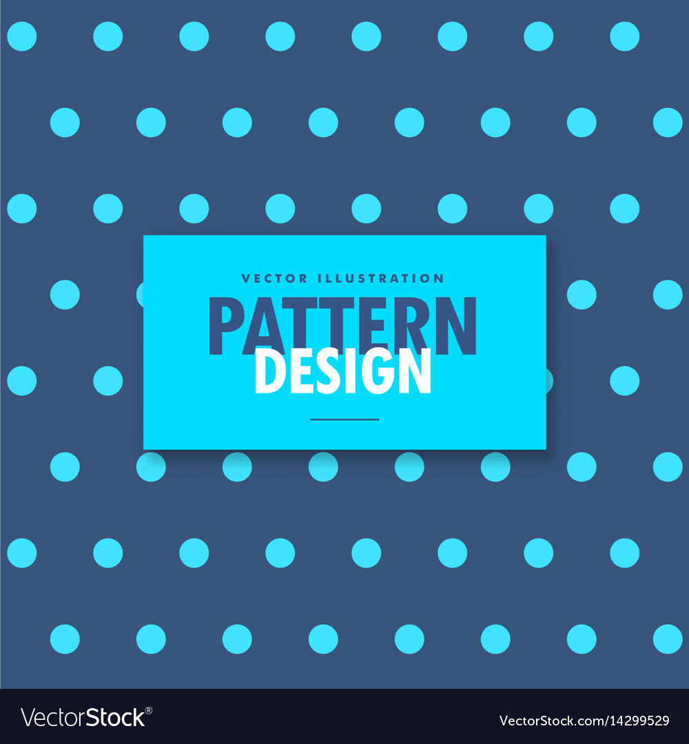 Elegant blue polka design background