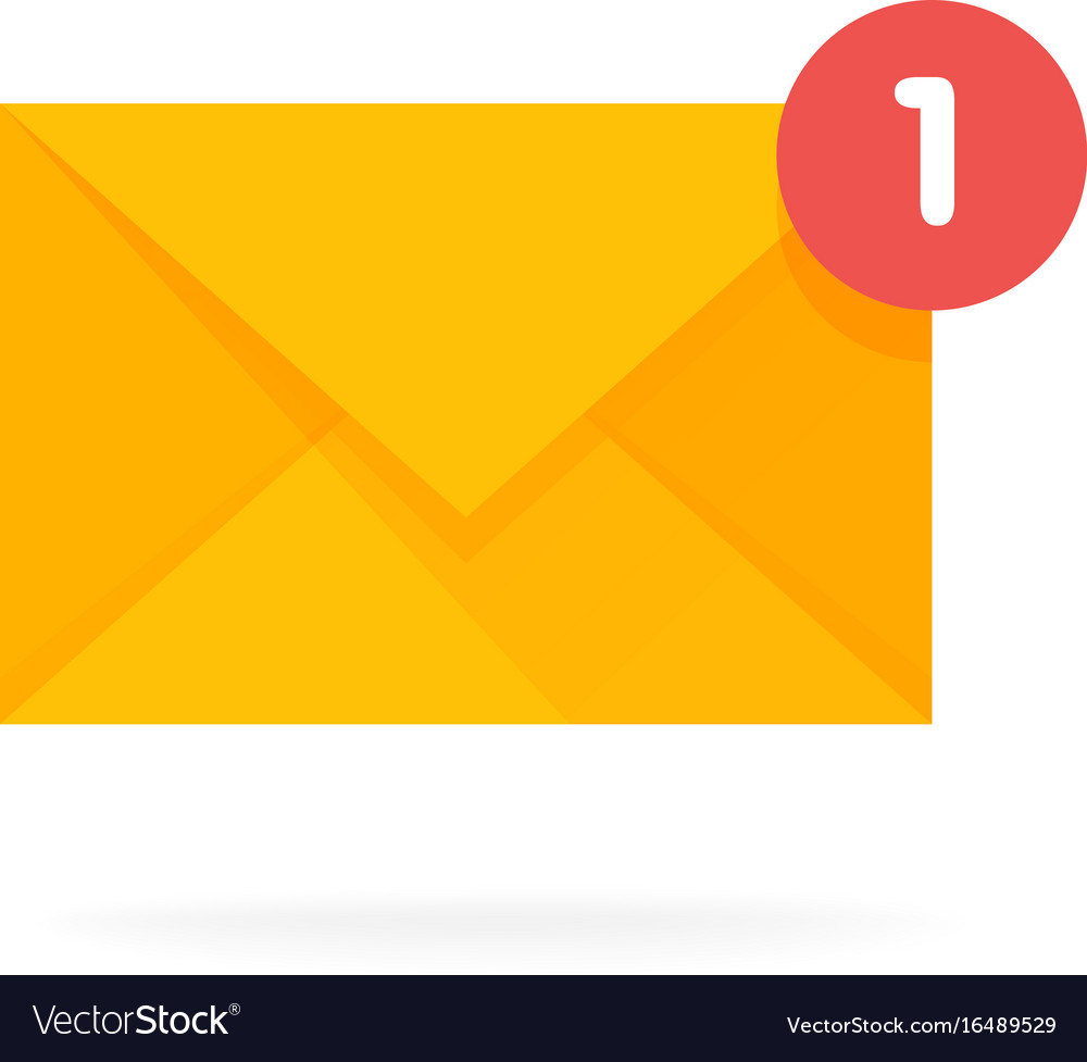 Mail envelope icon email send concept