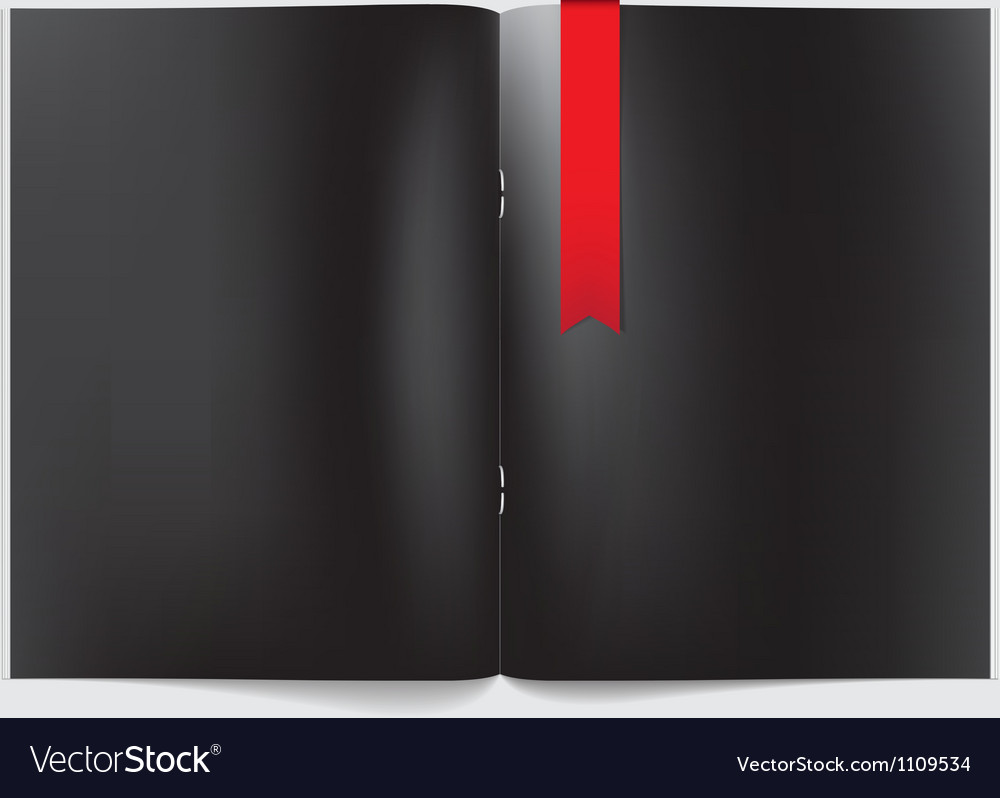 Magazine blank page template for design layout