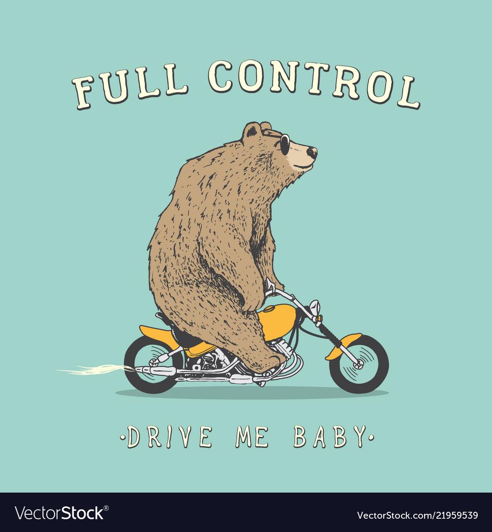 картинки афиш медведей на мотоциклах для окон изготавливают