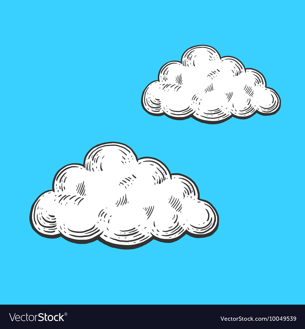 Cloud engraving style
