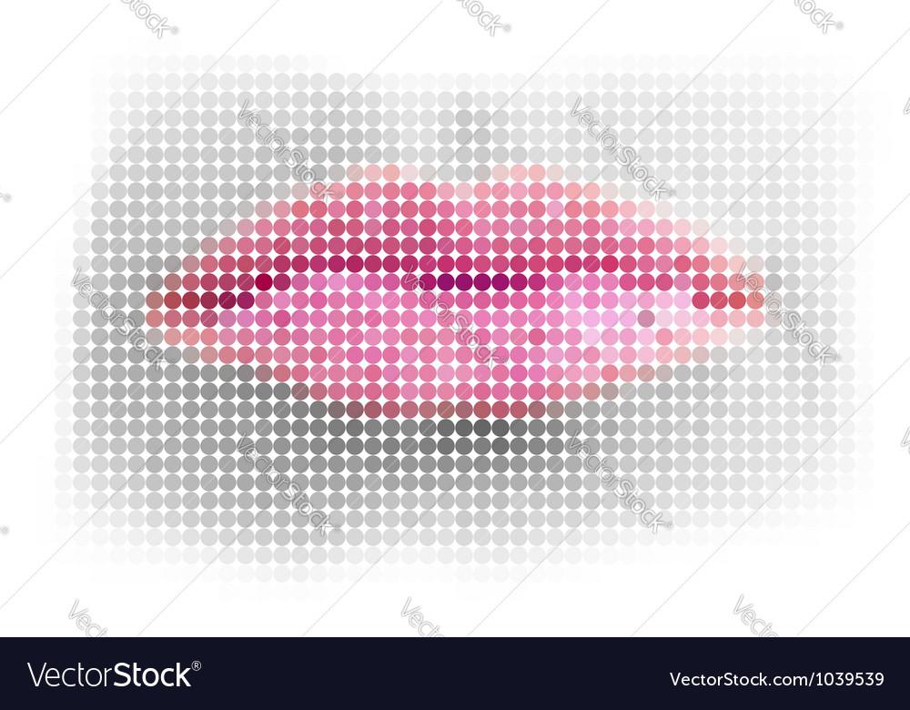 Dot lips