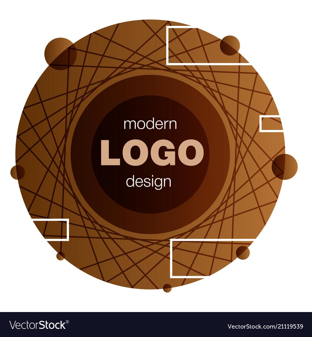 Minimalistic design creative concept modern