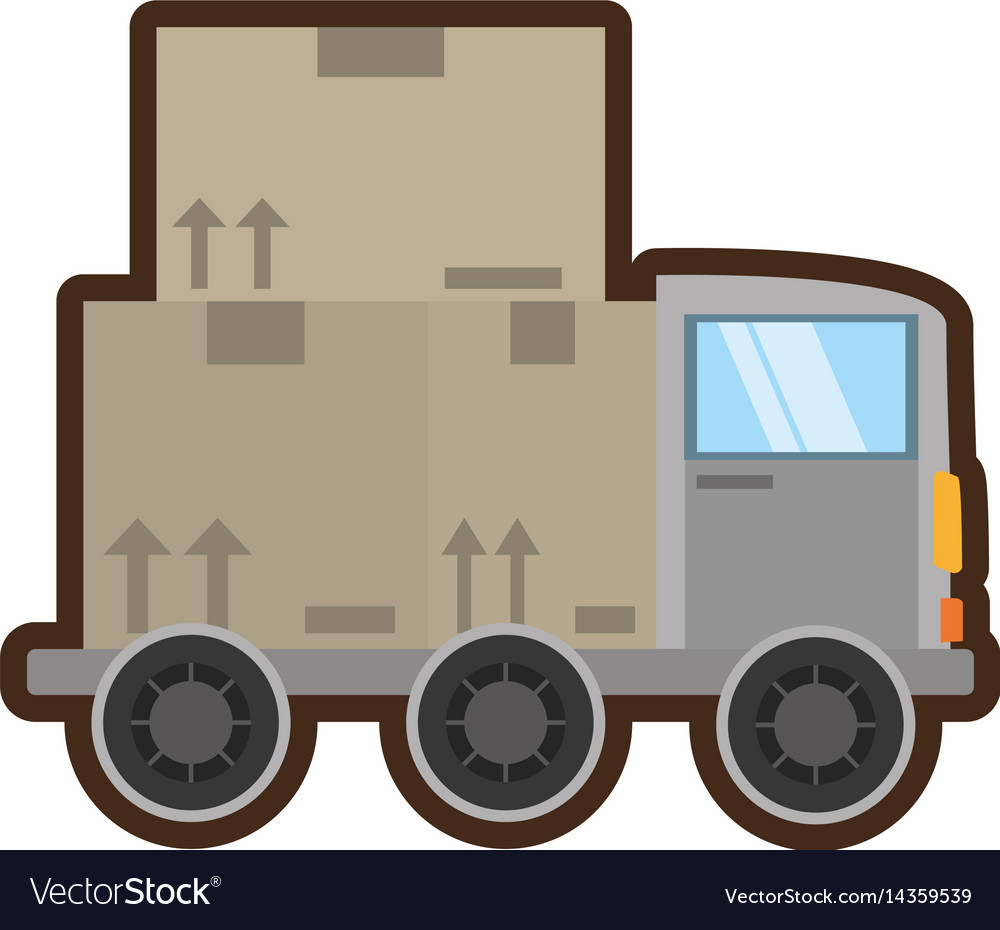 Truck delivery transport concept