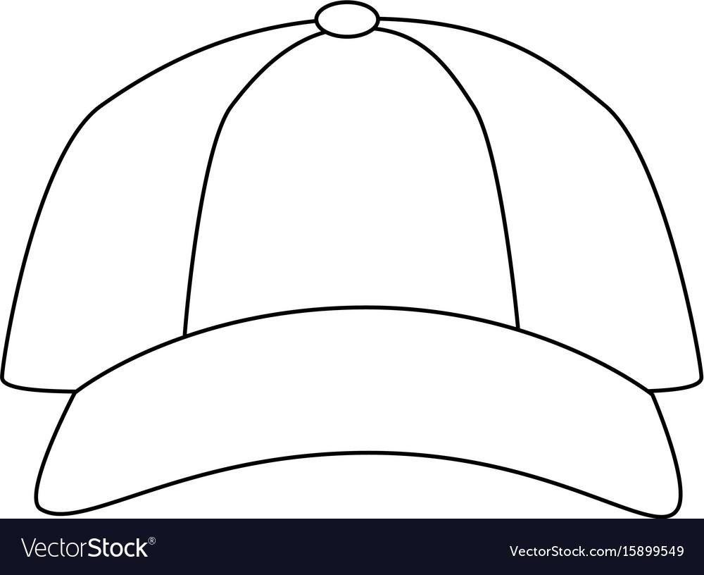 Isolated cute beach cap