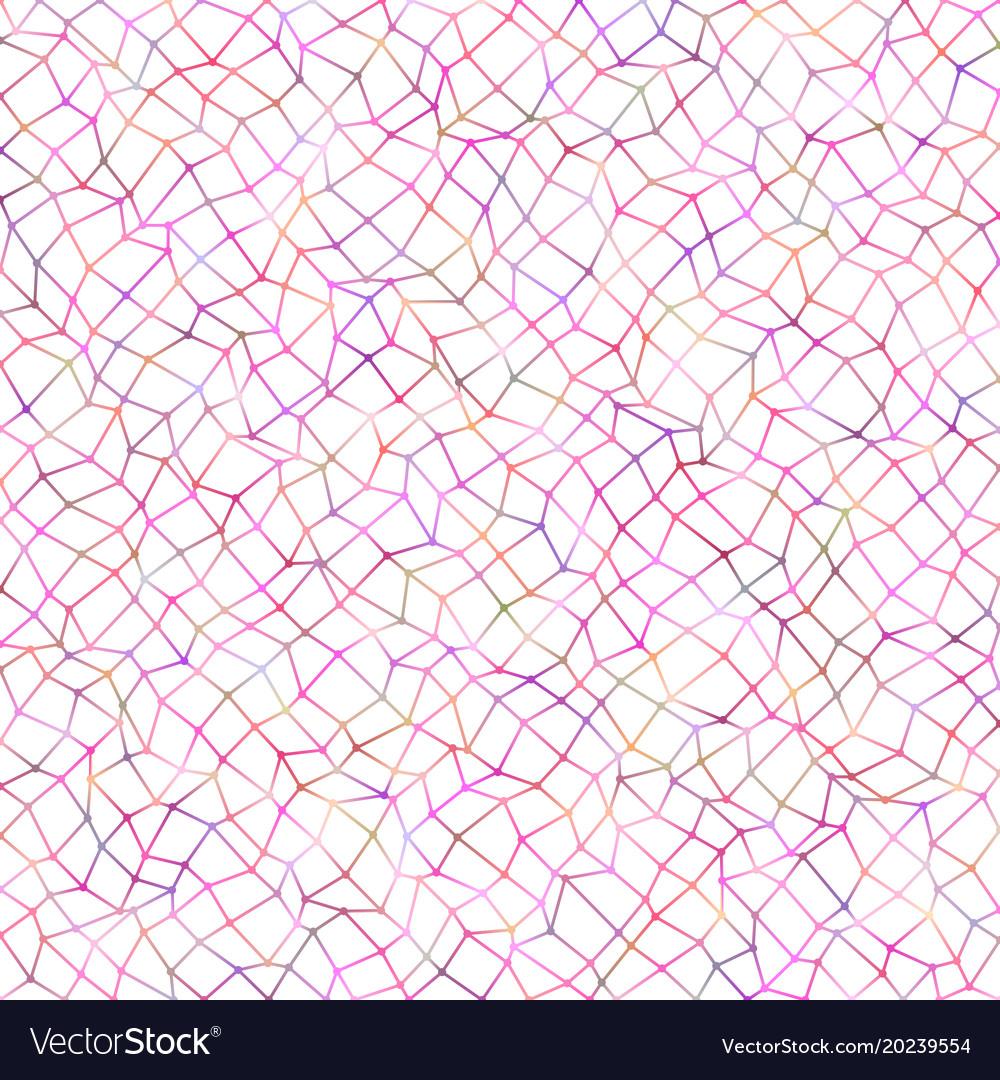 Abstract irregular rectangle mesh pattern