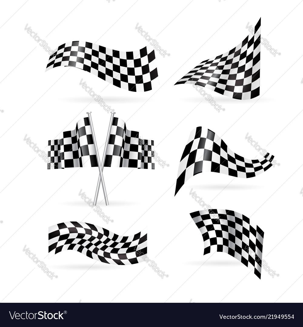 Checkered flag set