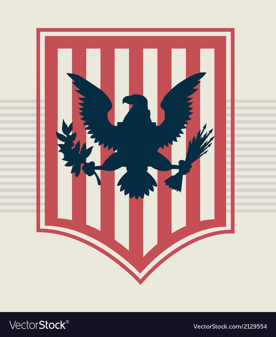 Eagle Shield vector image