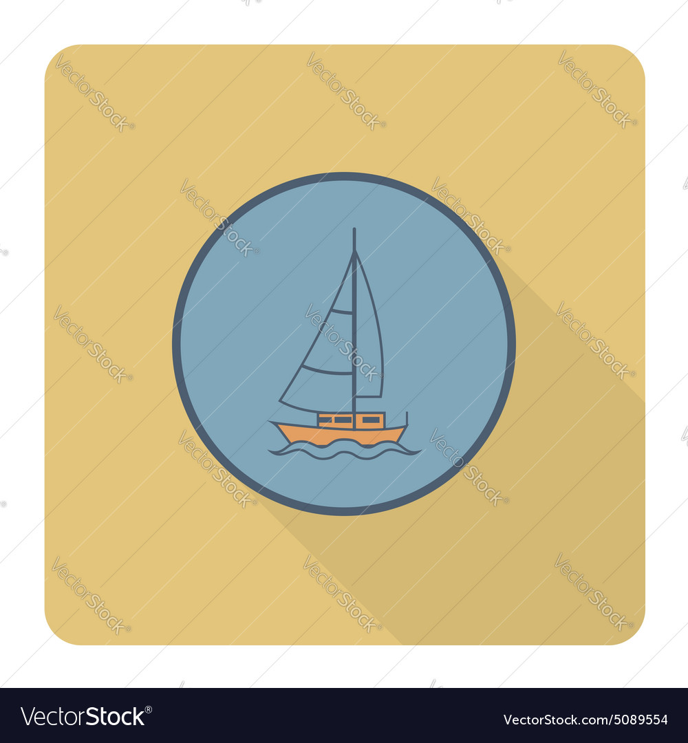 Summer and Beach Simple Flat Icon