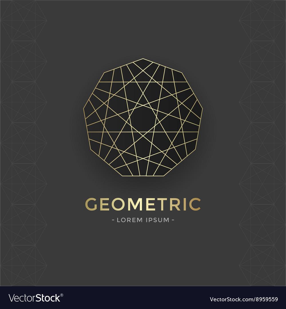 Geometric sacred symbol