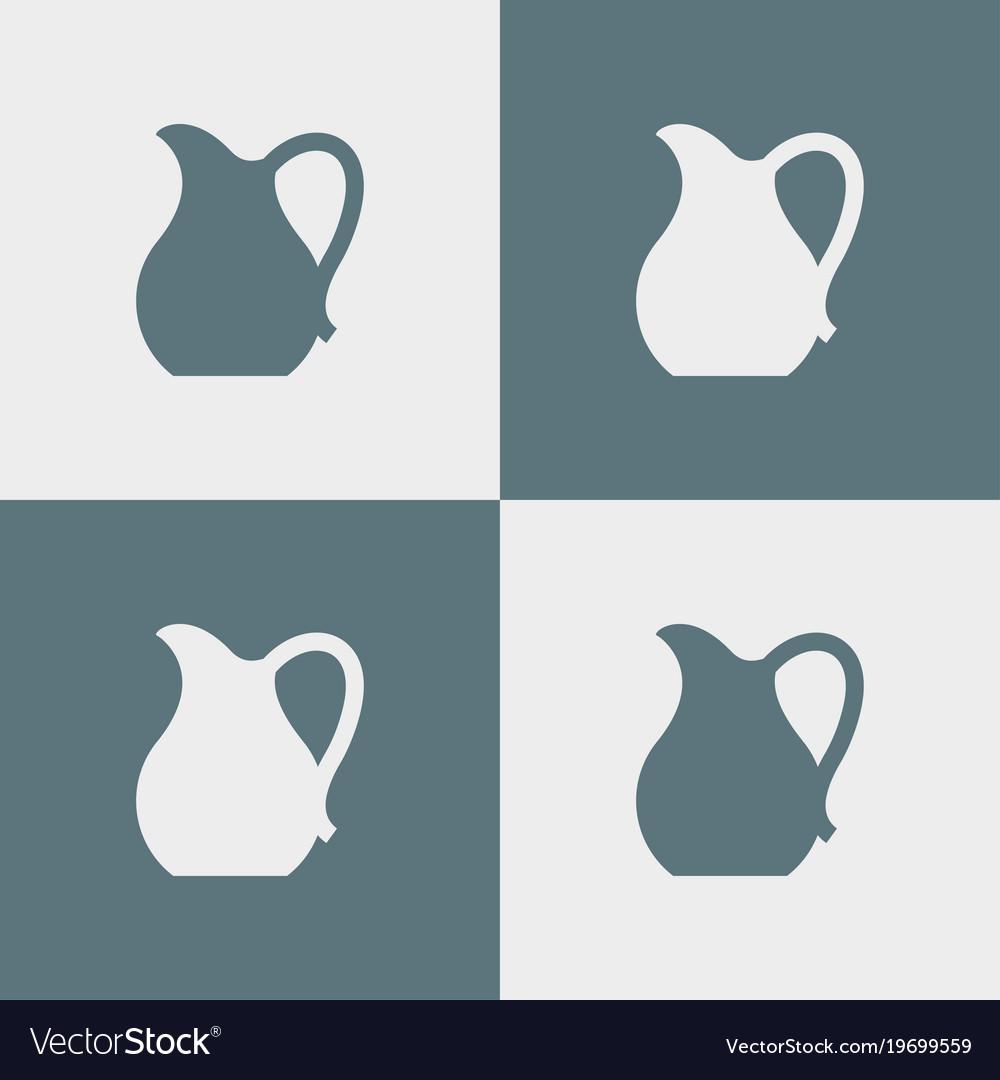 Jug icon simple