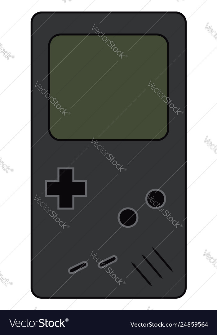 A Handheld Tetris Video Game Device Or Color