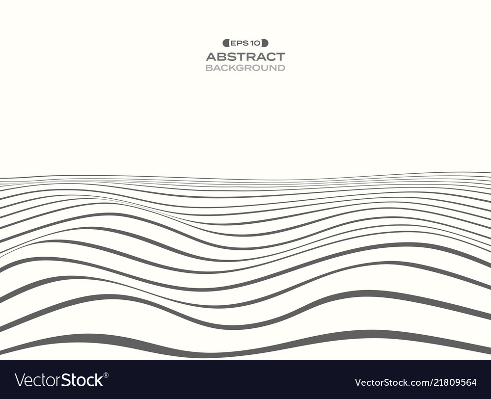 Abstract of gray stripe lines pattern water wave