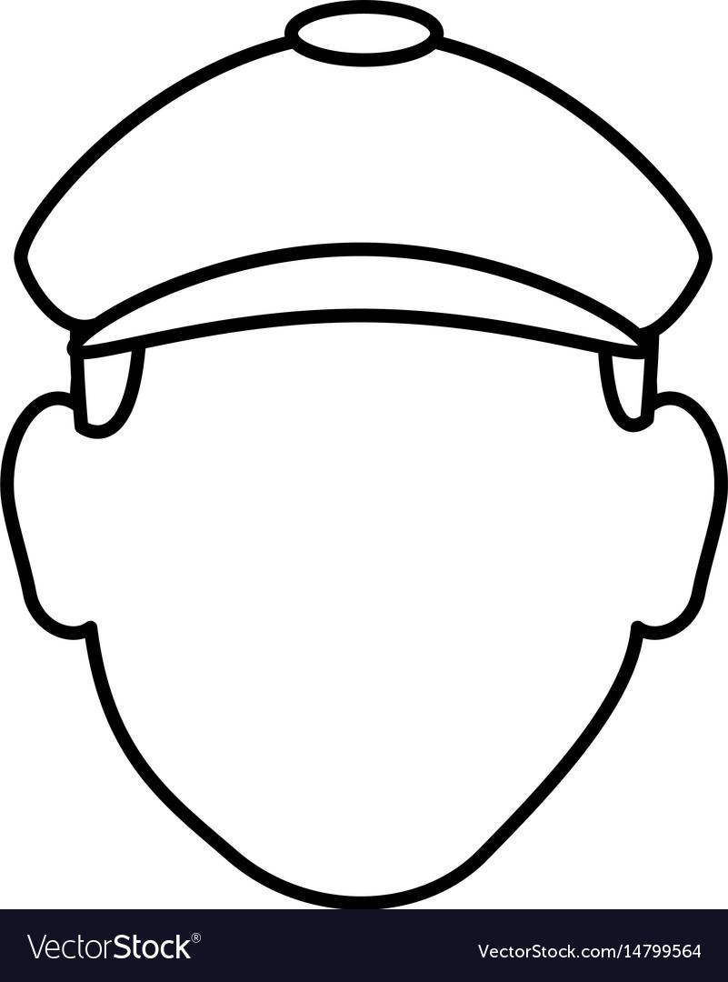 Golf player avatar character