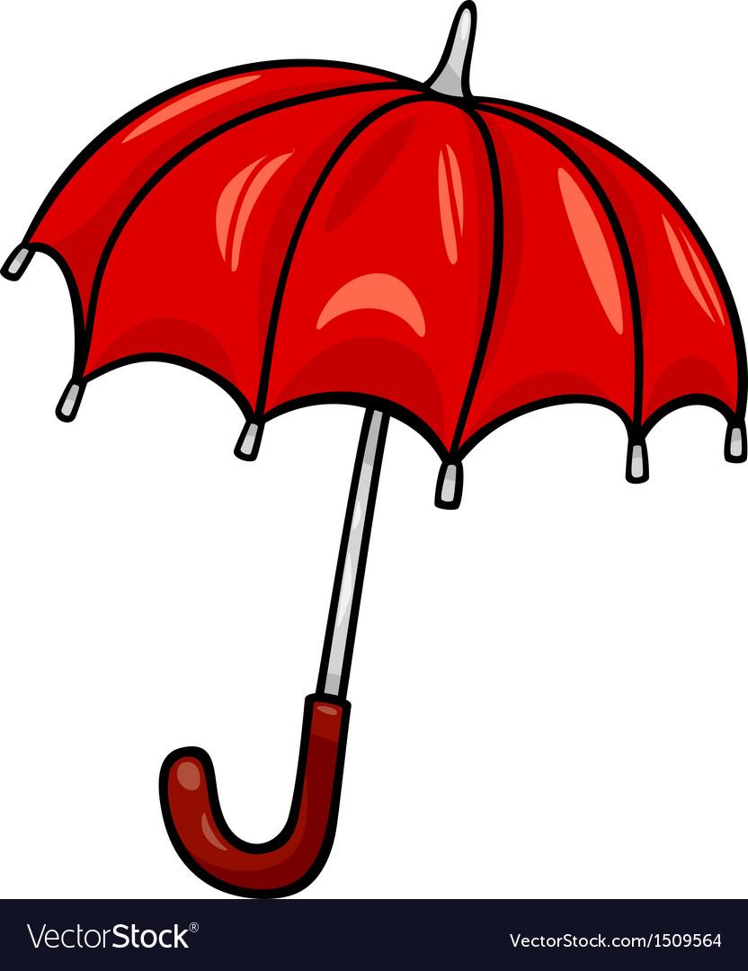 Umbrella clip art cartoon vector image