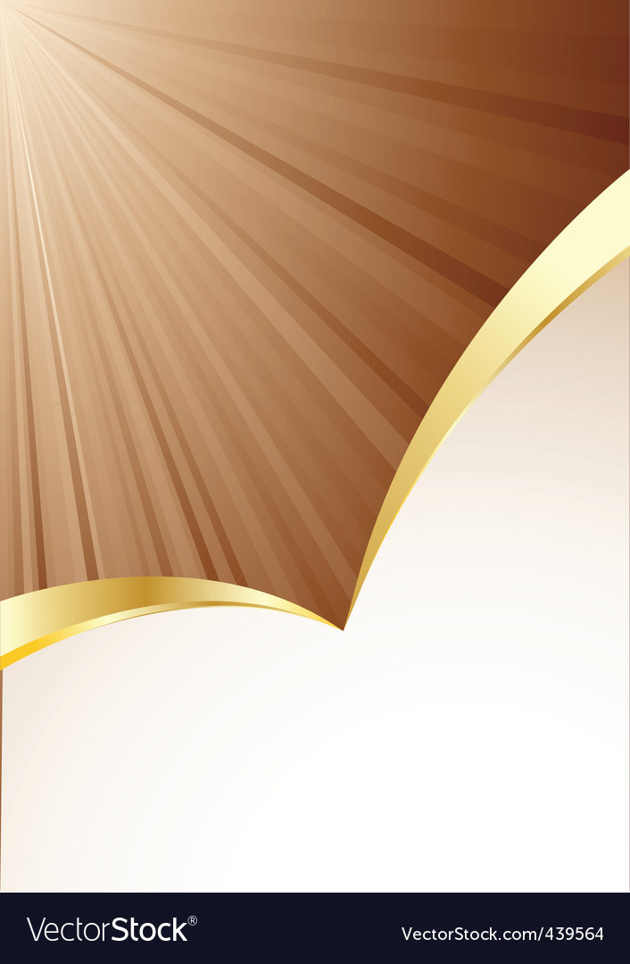 Vector background in brown color vector image