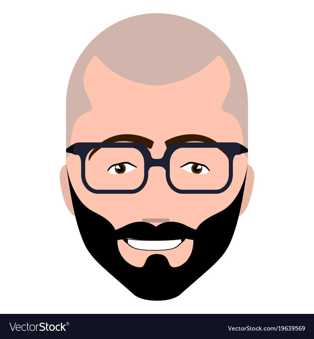 Hipster avatar image