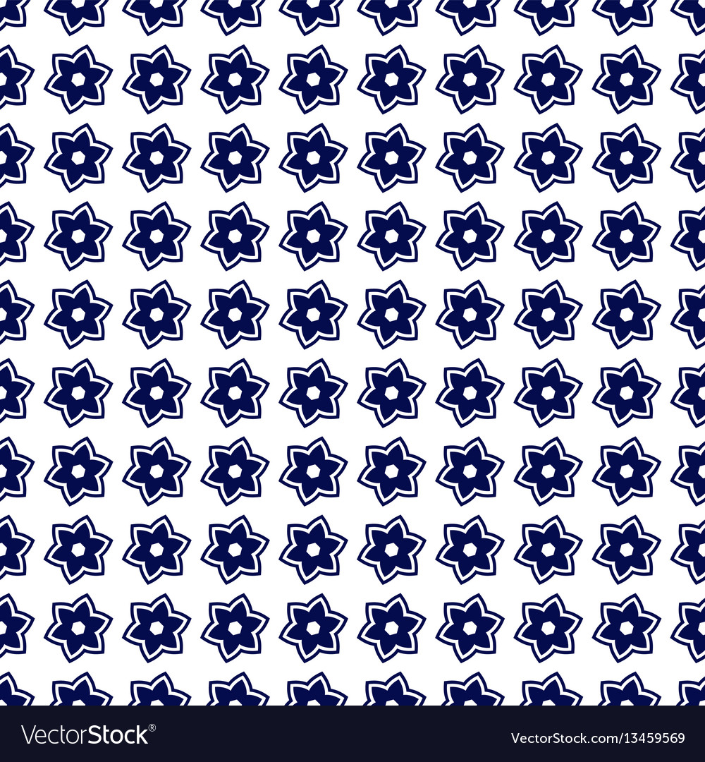 Portuguese azulejo tiles seamless patterns