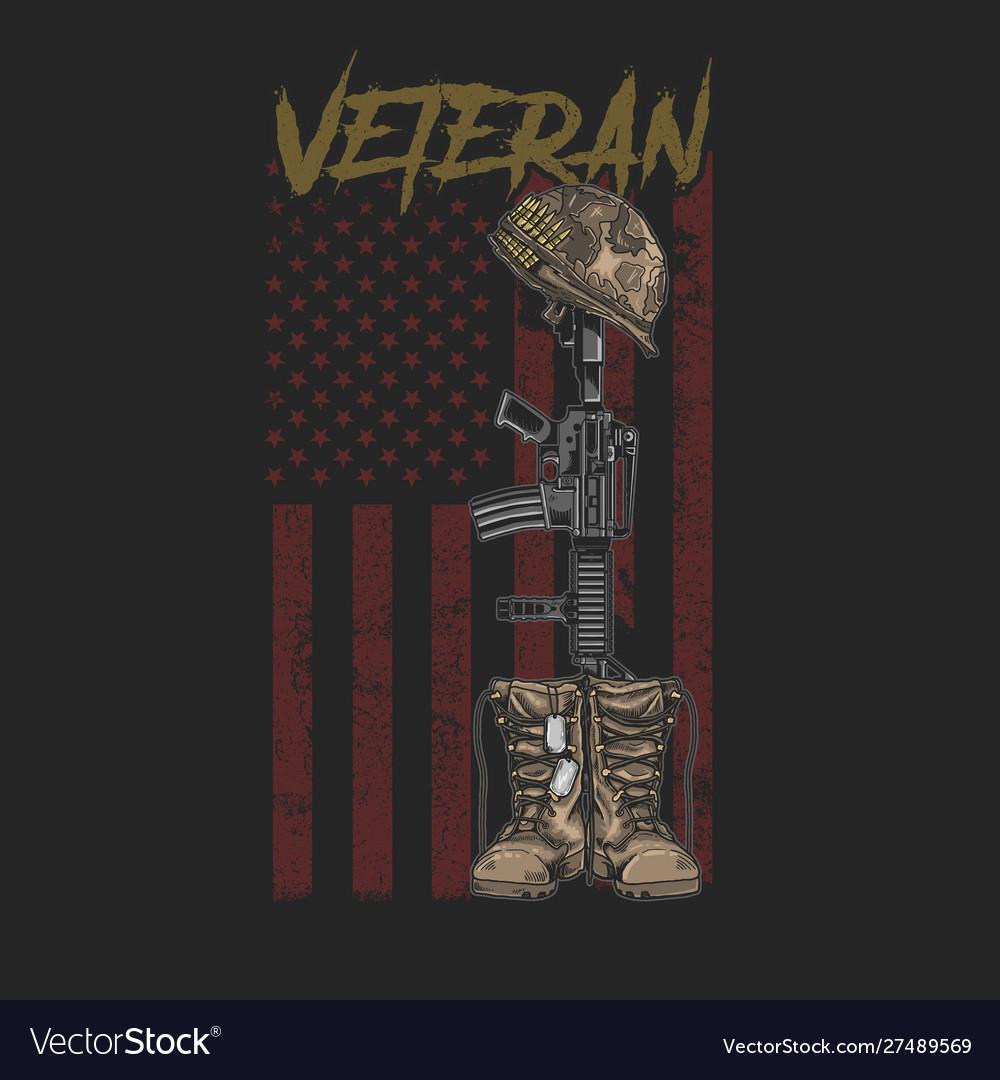 Veteran army boot