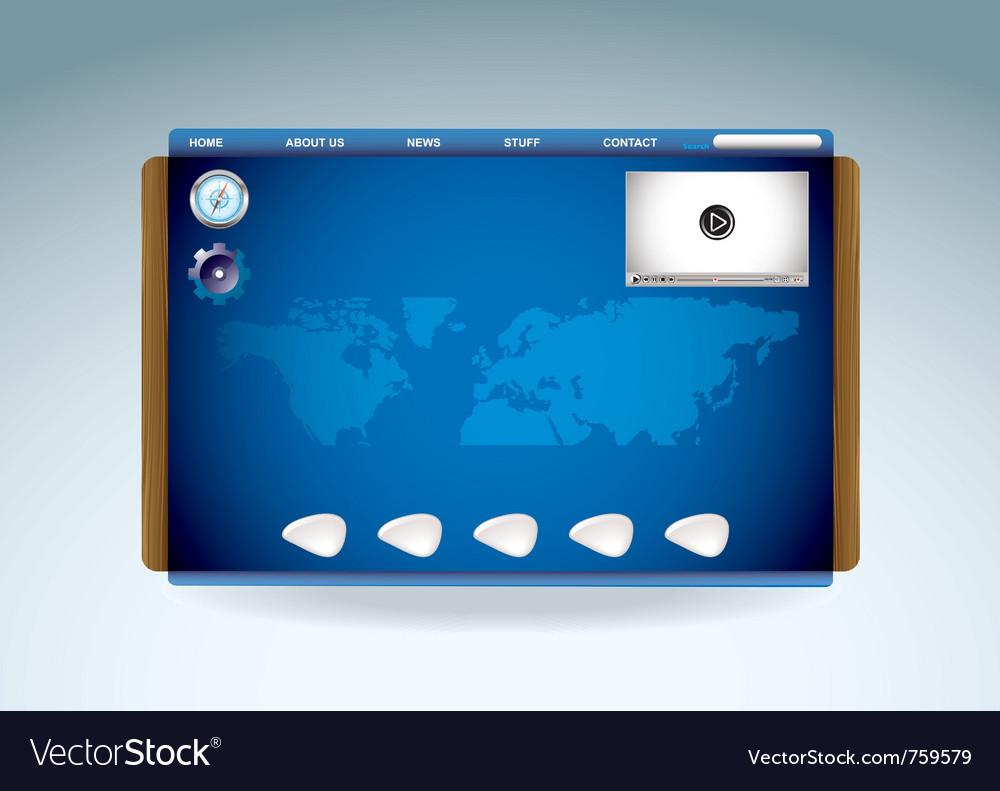 Modern web browser