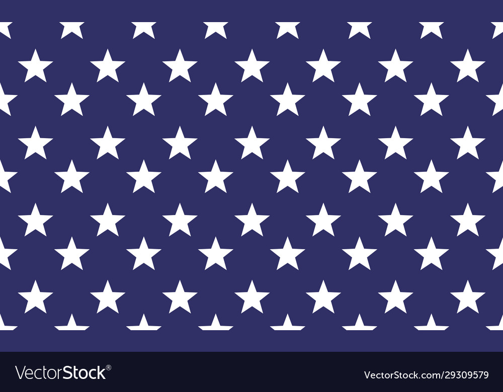 Seamless star pattern background repeat