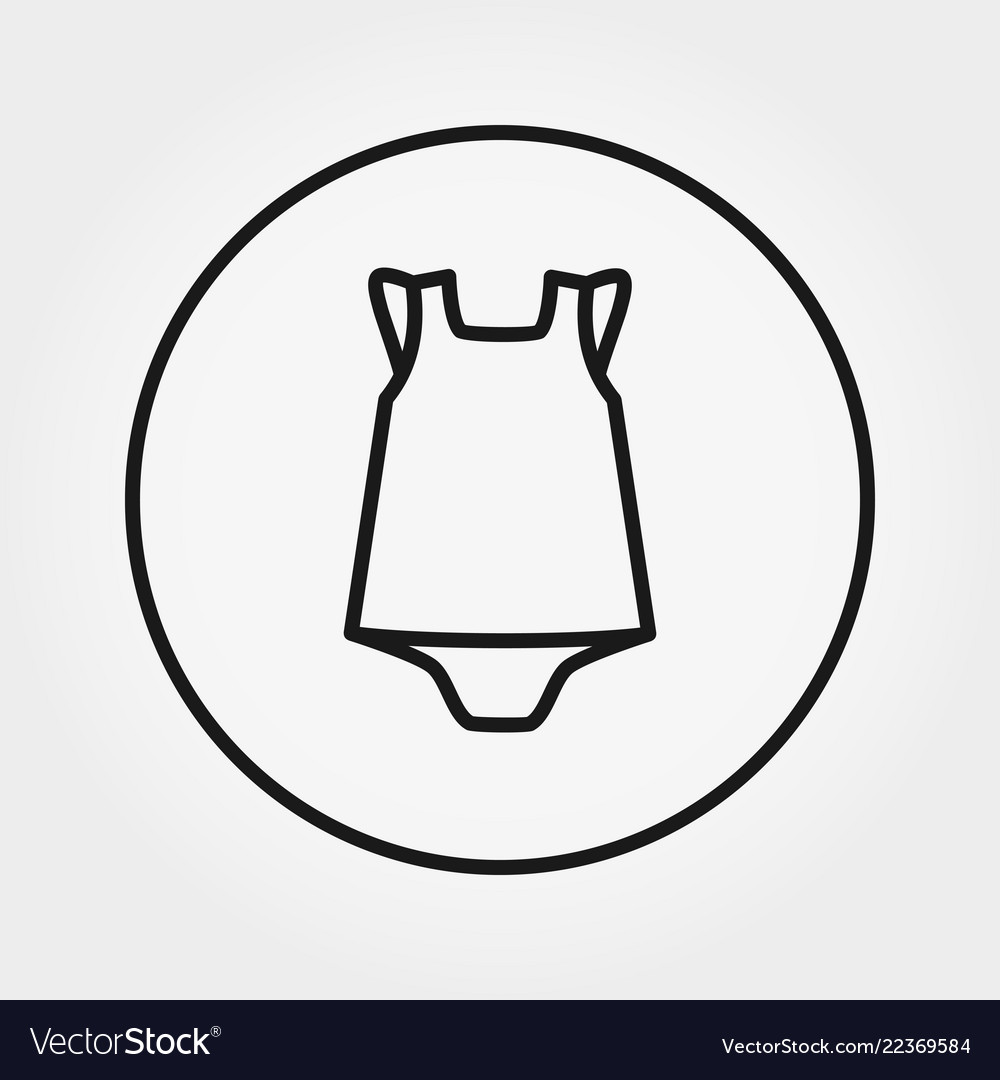 Badress with panties overalls jumpsuit icon