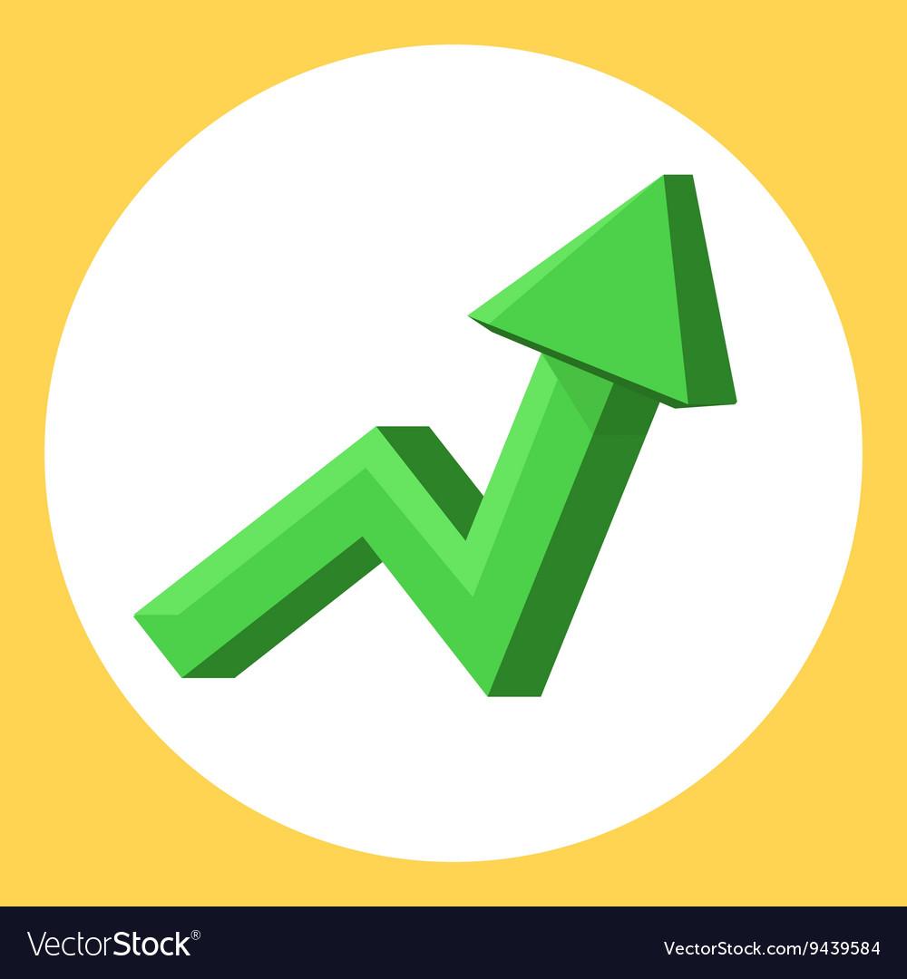 Green upward trend