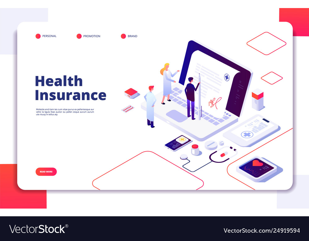 Health insurance concept family medical health