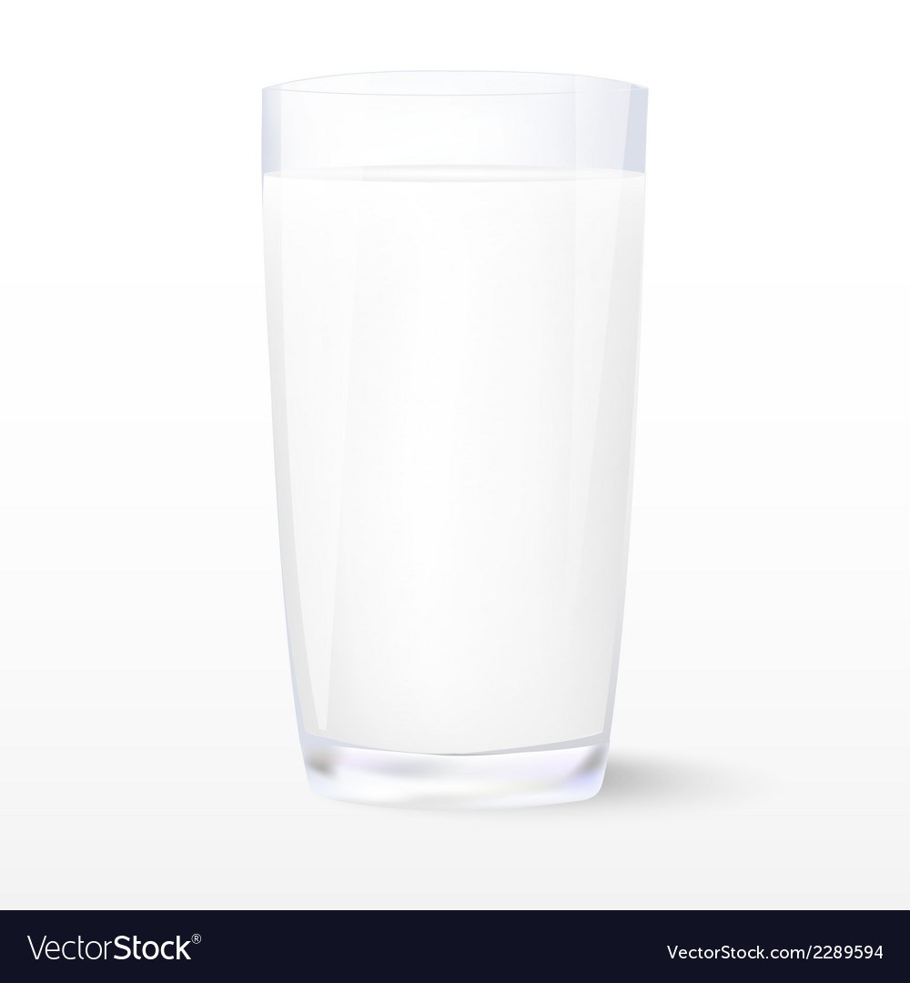 Milk Insulated glass of milk