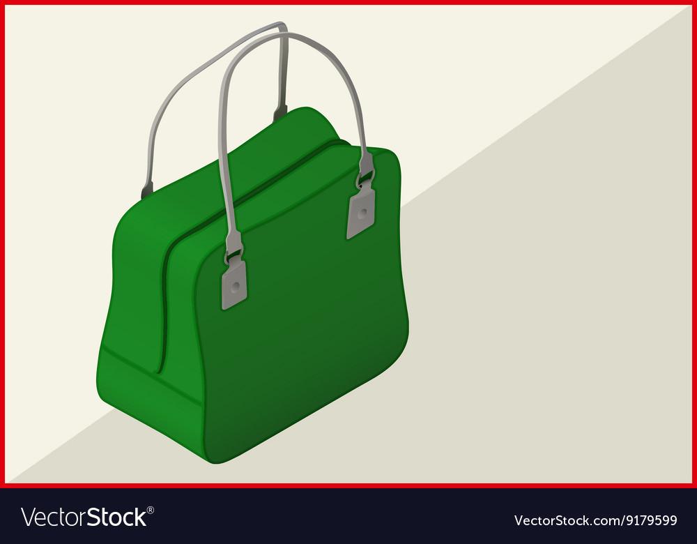 Bag isometric flat 3d