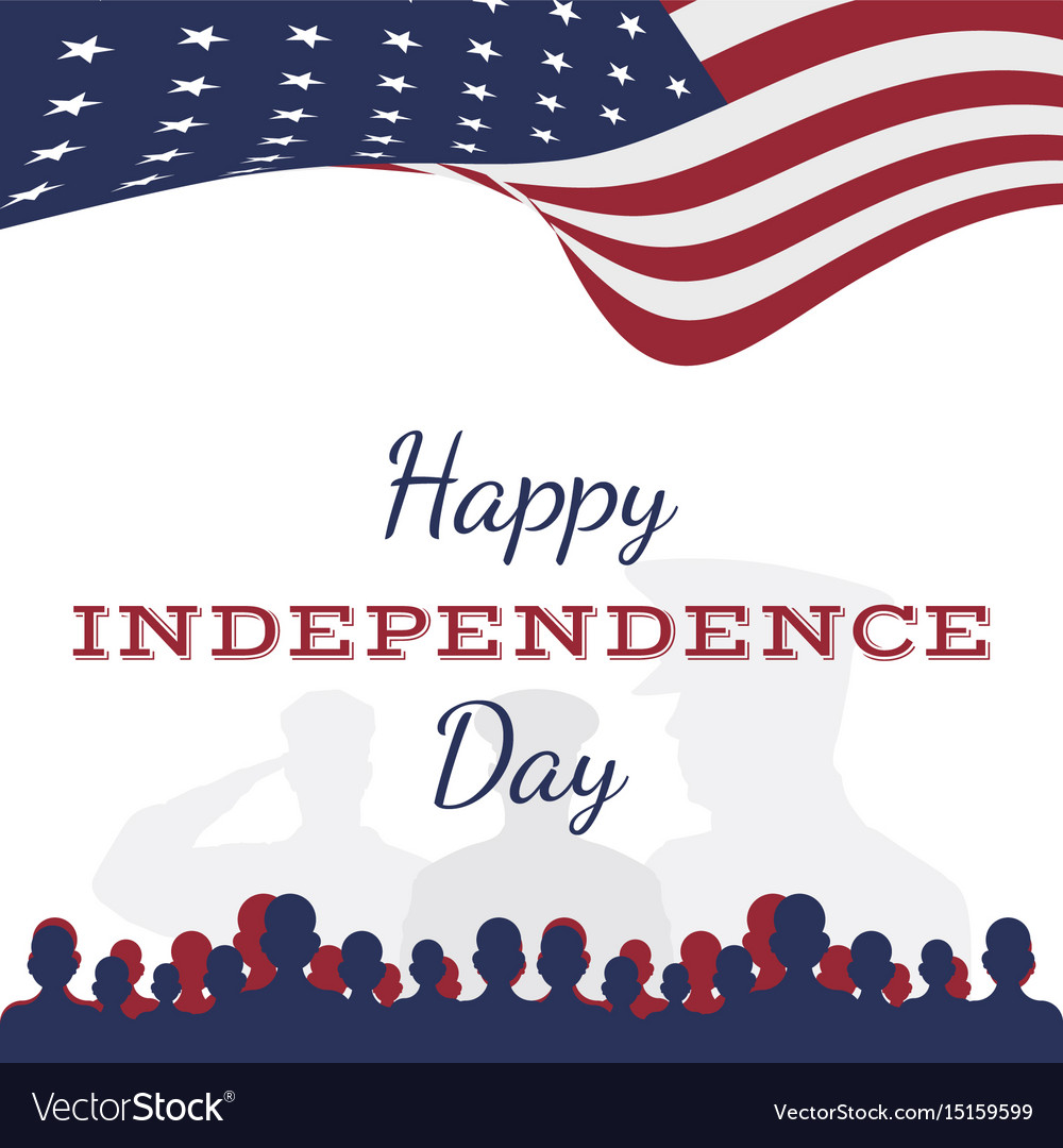 Celebrate happy 4th of july - independence day