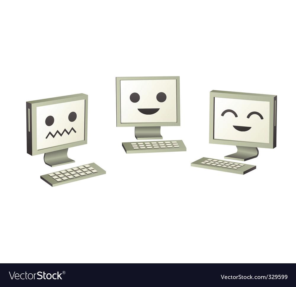 Cute symbol faces like.. ٩(-̮̮̃-̃)۶?.