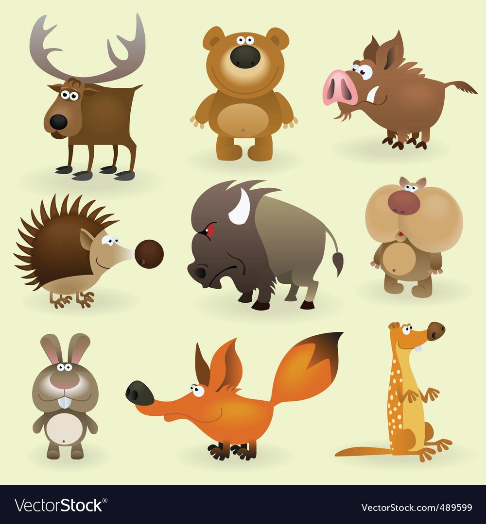 Wild animals set 2