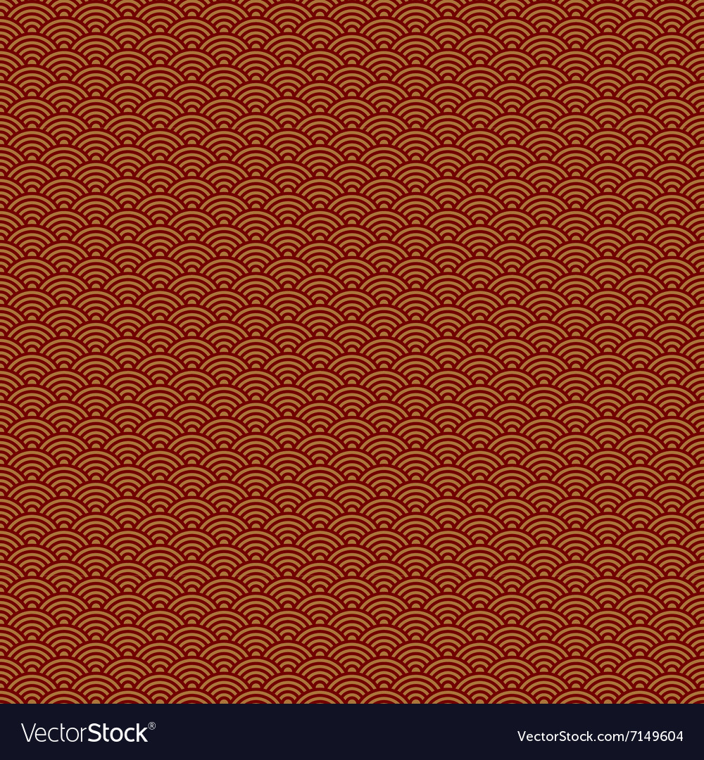 Abstract Chinese New Year seamless pattern vector image