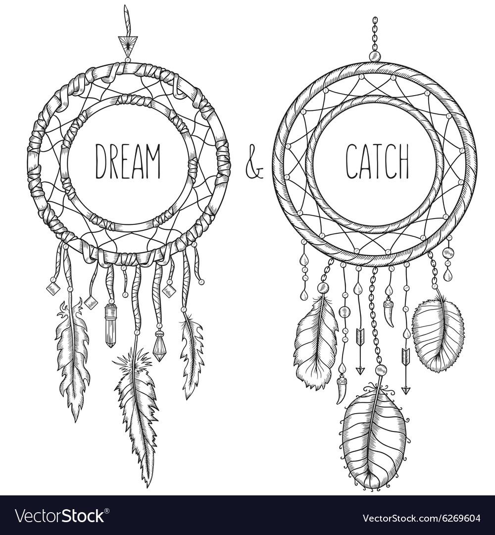 Dream catchers Native american traditional symbol